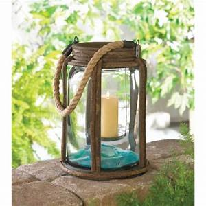 Large Metal Old World Rustic Antique Camping Candle ...
