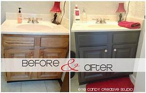 Eye candy creative studio home how to repaint a for How to repaint bathroom