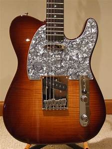Custom Made Flamed Maple Top Telecaster Style Electric