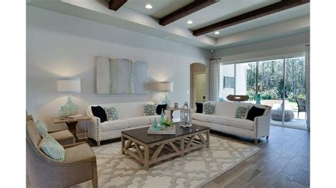 family room  beam ceiling  san pablo floor plan