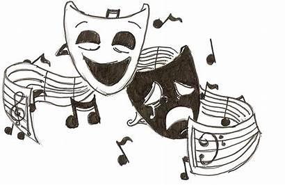 Clipart Drama Theatre Faces Symbols Cliparts