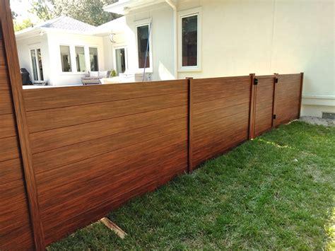 knotwood  aluminum privacy fence aaa fence charleston