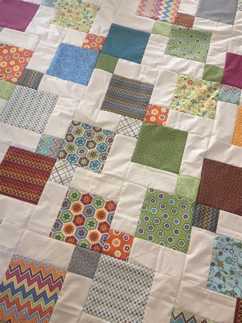 nine patch quilt layer cake 9patch