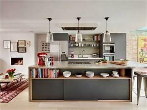 Küche Offene Regale : offene k che bilder kochinsel mit regal graue k chenschr nke lapazca ~ Markanthonyermac.com Haus und Dekorationen