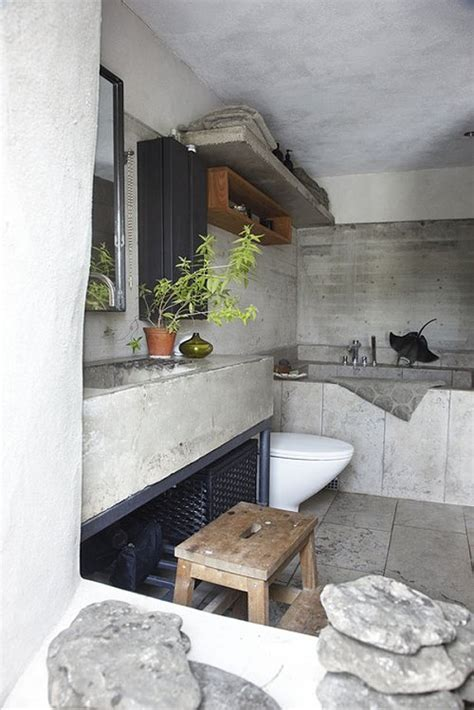 20 Awesome Concrete Bathroom Designs by 20 Awesome Concrete Bathroom Designs Decoholic