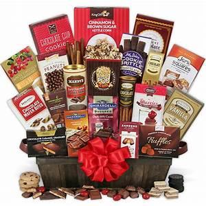 Christmas Gift Basket Idea for Women by GourmetGiftBaskets.com
