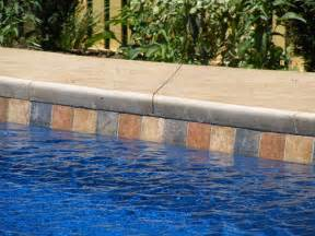pool waterline tile ideas waterline tiles aztec fiberglass pool designs