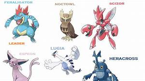 Underworld Honduras My Pokémon Teams P