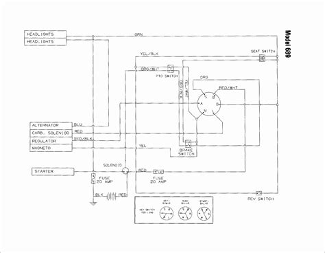 Troy Bilt Bronco Electrical Wiring Diagram by Troy Bilt Pony Wiring Diagrams For 2009 Wiring