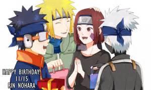 Naruto and Kakashi Team Minato