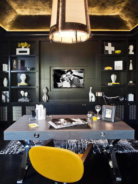 elegant masculine home office design ideas interior god