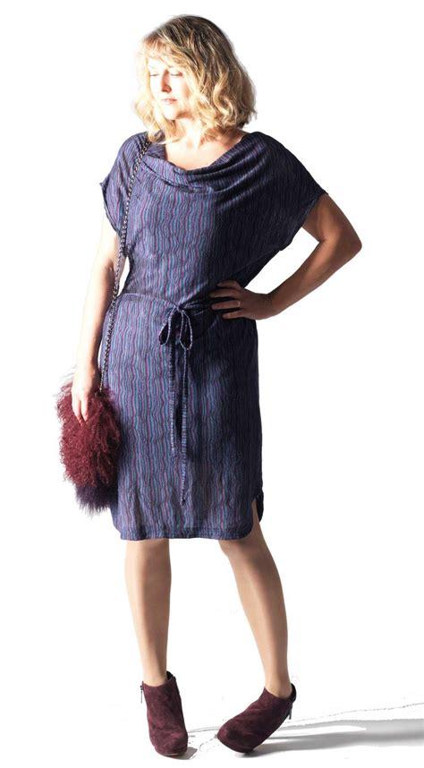 parisienne drape dress pattern allfreesewingcom