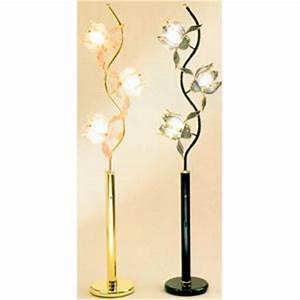 blossom petal floor lamp 705 25 43 wd idollarstorecom With gold flower floor lamp