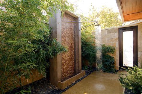 outdoor shower ideas for fantastic summer