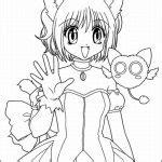 gacha life coloring pages characters  printable