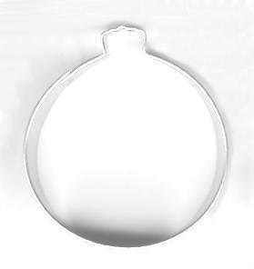 3d round ornament cookie recipe ornament metal cookie cutter for baking favors