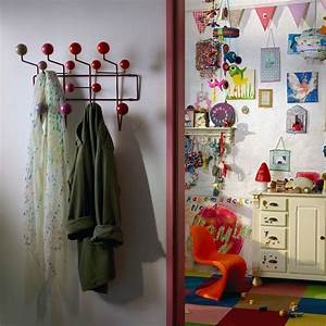 Hang It All Garderobe : vitra hang it all garderobe rot charles ray eames ~ Michelbontemps.com Haus und Dekorationen