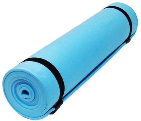 New Blue Yoga Camping Beach Sleeping Ground Mat 180 X 50cm