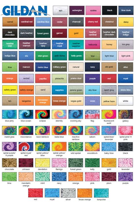 common  shirt brands tee blank color swatches tee fetch
