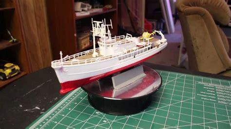 1125 Ocean Exploration Vessel Plastic Model Kit Youtube