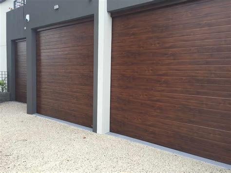 insulated garage doors insulated steel skin sectional garage doors best