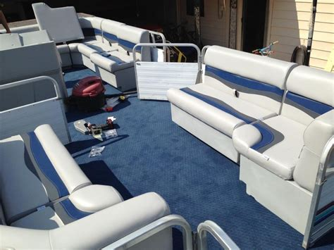 Pontoon Boat Flooring Ideas by Pontoon Restoration Flooring Ideas Pontoon Forum Gt Get