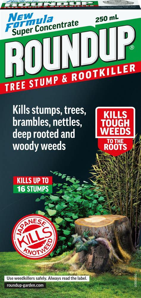 roundup concentrate tree stump root killer ml kg