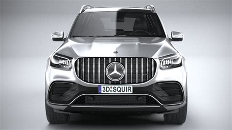 Gallery of 95 high resolution images and press release information. Mercedes-Benz GLS63 AMG 2021