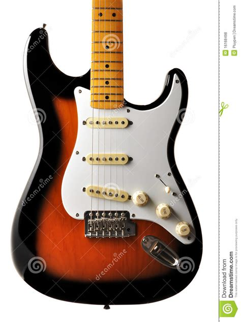 Electric Guitar Body Royalty Free Stock Photos Image