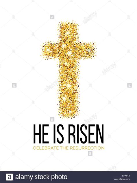 He Is Risen Images He Is Risen Easter Background Vector Illustration Stock