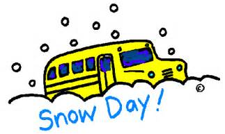 Image result for no school because of snow clip art