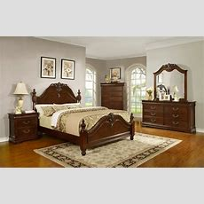 Formal Traditional King Size Antique Style Celina Bedroom
