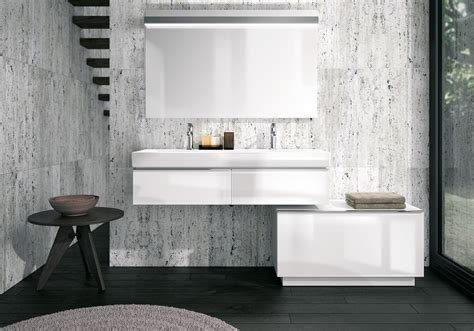 tres salle de bain deco salle de bain blanche et grise