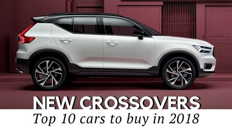 What Is A Crossover Vehicle by Best Crossover 2018 Auxdelicesdirene