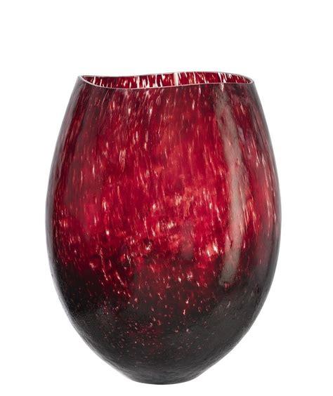 Burgundy Glass Vase by Dino Vase Burgundy Kosta Boda Accessories Are The
