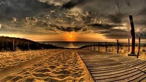Dark, Beach, Ocean, Summer, Sun, Sky, Beautiful Places ...