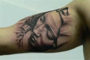Arm Inner Bicep Tattoos Men