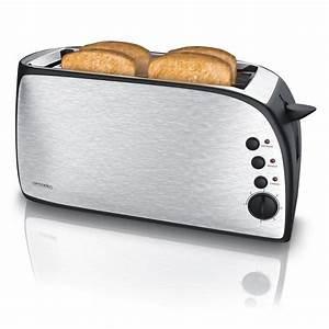 4 Schlitz Toaster : arendo automatik 4 scheiben langschlitz toaster mit 1200 ~ Michelbontemps.com Haus und Dekorationen