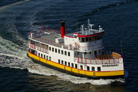 About the Vessels of Casco Bay Lines
