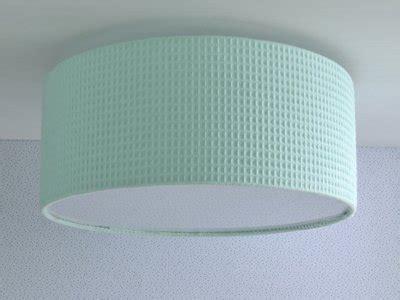 plafondlamp babykamer mintgroen wafel mint plafonniere