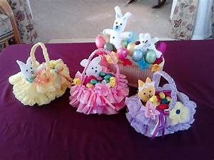 Amazing Easter Basket - crafted from recycled plastic bag
