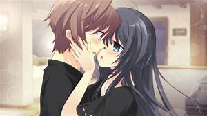 Cute Anime Couple Wallpaper - WallpaperSafari