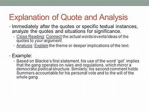 Comparative Literary Analysis - ppt download