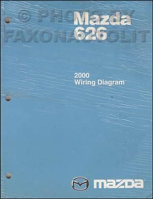 1987 Mazda 626 Wiring Diagram Original 41471 Verdetellus It