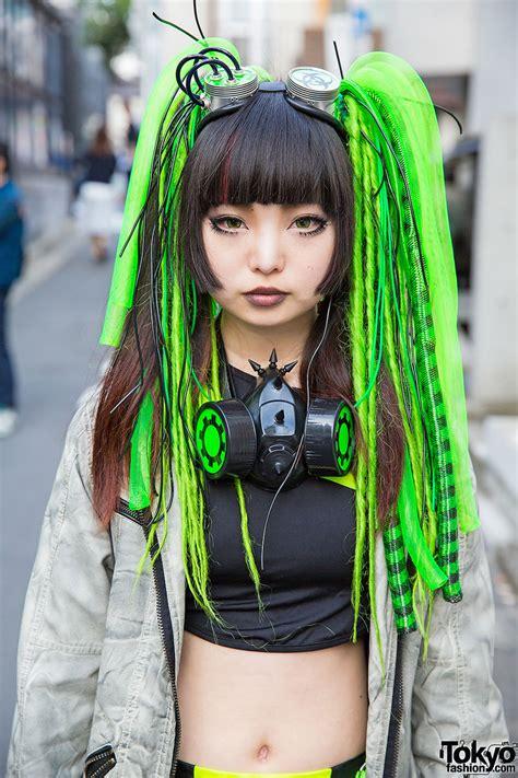 harajuku cyber style   lolly cyberdog gas mask