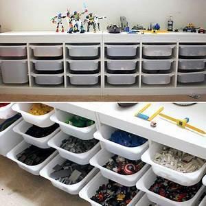 Lego Aufbewahrung Ideen : die besten 25 lego aufbewahrung ideen auf pinterest lego speichertabelle trofast lego tisch ~ Orissabook.com Haus und Dekorationen