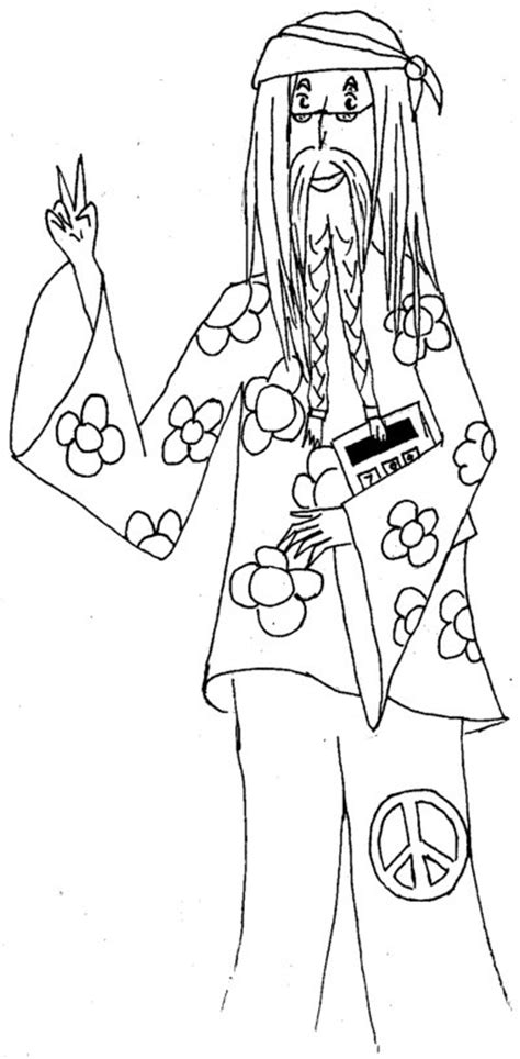 Hippie Drawing Ideas at GetDrawings   Free download
