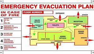 General office inspection checklist process street for Fire evacuation plan template for office