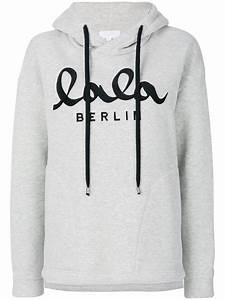 Lala Berlin Hoodie : lala berlin hooded sweatshirt in gray for men lyst ~ Jslefanu.com Haus und Dekorationen