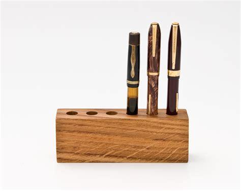 pen holder for desk wood pen holder pen holder desk organizer by